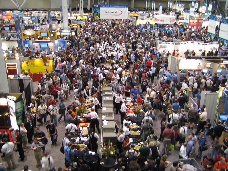 Tech ed 2006 expo reception