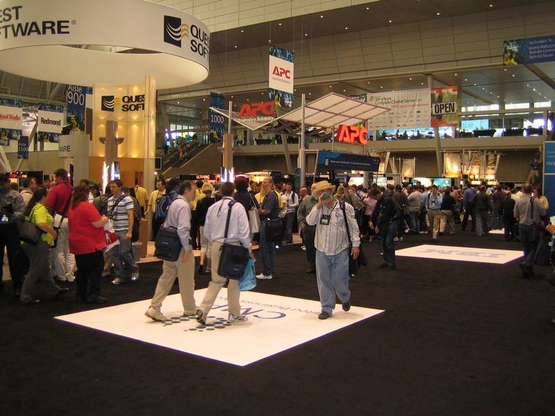 Tech ed 2006 expo floor