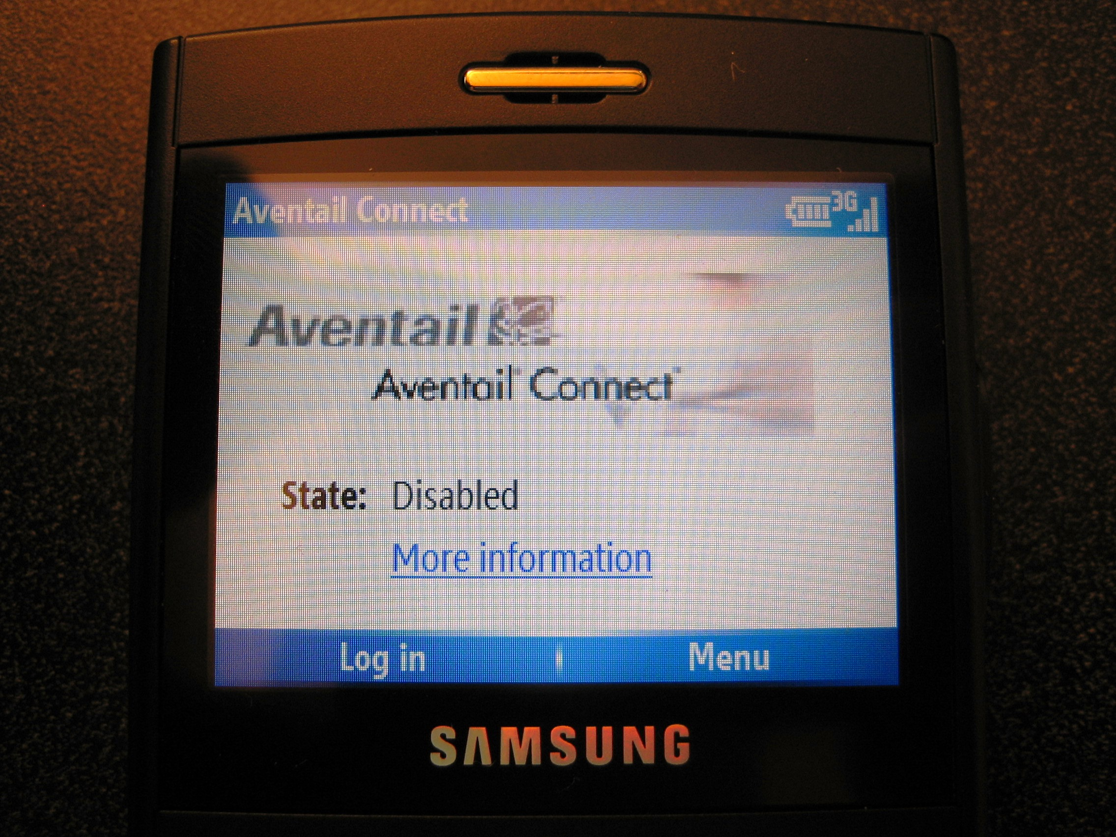 Aventail Connect Mobile (Smartphone) VPN client