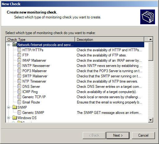 GFI Network Server Monitor