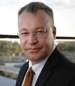 The man charting Nokia's course, CEO Stephen Elop