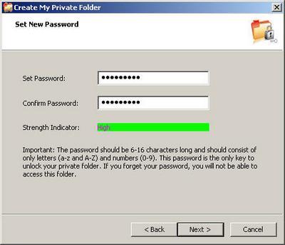 Microsoft private folder 1.0