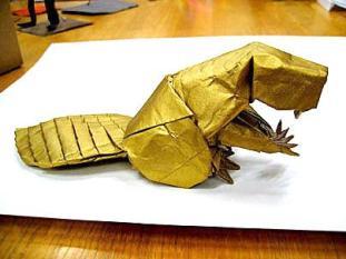 Origami mascot