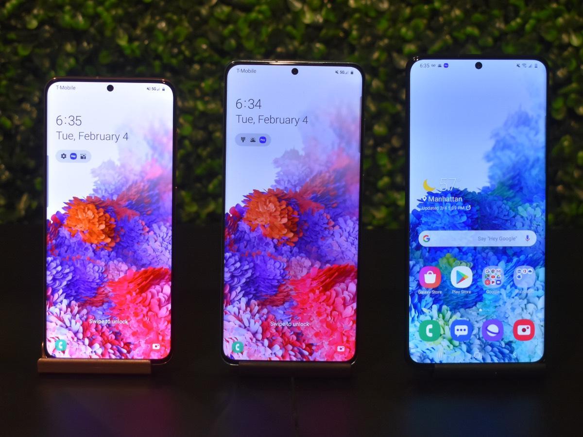 Samsung Galaxy S20, S20 Plus, S20 Ultra